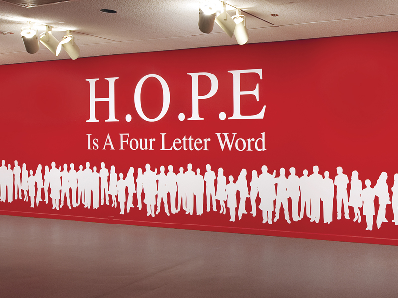 Brad Buckley » The Slaughterhouse Project: [HOPE] is still a four